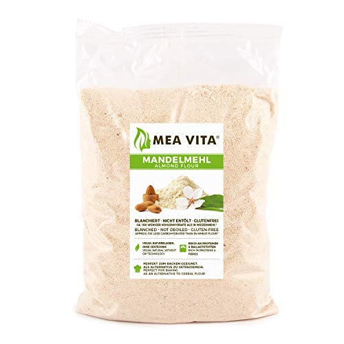 MeaVita almond flour, natural, bleached, 1 package (1 x 1000 g) in a bag