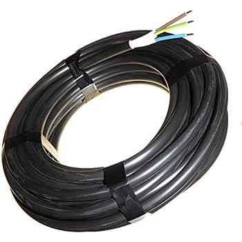 C/âble HI Tuff en PVC 3 Core disponible en rouleau complet et coupes de longueurs personnalis/ées
