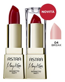 ASTRA Many kisses 04 break rossetto* - Cosmetici