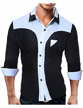 Los hombres camisas Western viento camisa de manga larga