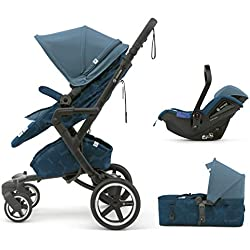 Concord Neo Plus Mobility Set - Sistema modular neo plus + scout + air 0+, Color Peacock Blue