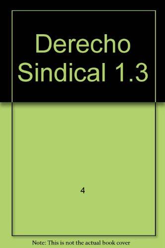 Derecho Sindical 1.3