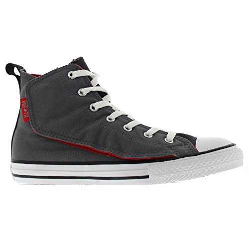 Converse Youths All Star Simple Step Hi Thunder Textile Trainers Gris