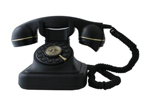 Swissvoice Vintage 20 - Schnurgebundenes Analog-Telefon im stilvollen Retro-Design mit vergoldeten Details - 2