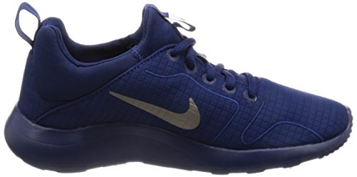 Nike Damen 877044 Sneakers Mehrfarbig (Binary Blue / Mtlc Pewter / White)