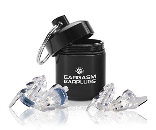 Eargasm alle Ohren, Ohrstöpsel für Konzerte Musiker Motorräder Noise Empfindlichkeit Störungen und mehr. Zwei verschiedenen Größen enthalten zu für alle Ohr Formen.