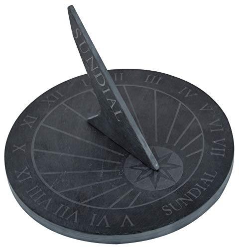 Meridiana rotonda ardesia misura grande diametro 25