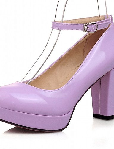 WSS 2016 Chaussures Femme-Bureau & Travail / Habillé / Décontracté-Noir / Vert / Violet / Amande-Talon Aiguille-Talons-Talons-Similicuir almond-us9.5-10 / eu41 / uk7.5-8 / cn42
