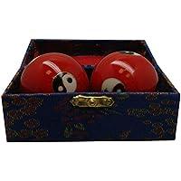 FuLuHe Qigongkugeln Yin Yang rot preisvergleich bei billige-tabletten.eu