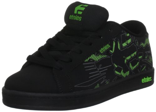 Etnies Ekg, Sneaker bambini, Nero (Black/Green/Gum), 13.5 UK Junior