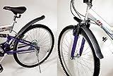 Fahrrad Schutzblech SET, 2 Fahrradschutzbleche, Kunststoff Steckschutzblech MTB (LHS)