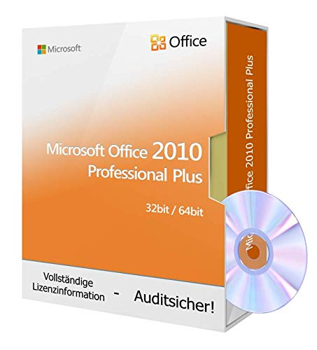 010 Professional Plus inkl. Tralion-DVD, inkl. Lizenzdokumente, Audit-Sicher ()