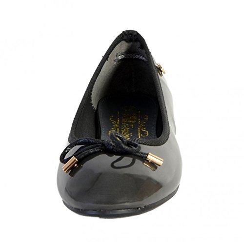 Xti - Schuhe Zapato Mod 28816 Grau Charol Noir