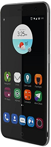 "ZTE Blade V7 - Smartphone libre Android(5.2"",4G, 16 GB, 2 GB RAM, 13 MP), color gris"