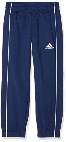 adidas - Core18 PES Pants - Pantalon de survêtement - Mixte Enfant - Bleu (Dark Blue) - FR: 9-10 ans (Taille Fabricant: 140 cm)