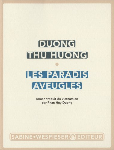 Les Paradis Aveugles [Pdf/ePub] eBook