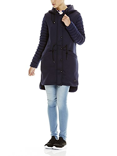 Bench Damen Mantel Mix N Match Parka, Blau (Maritime Blue Bl193), 38 (Herstellergröße: M)