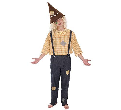 Imagen de disfraz de espantapájaros para niño