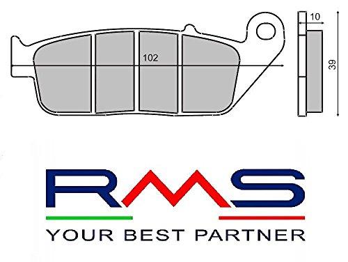 COPPIA PASTIGLIE ANTERIORI RMS YAMAHA YP R X-MAX 250 2010/2011 225100890