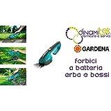 Gardena Cisaille à Gazon et buis sur accu ION-Lithium ClassicCut, Bleu/Noir