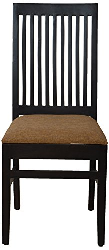 The Village Shop TVSDIN18 Dining Chair (Melamine Finish, Brown)