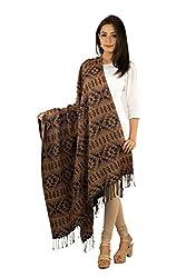Rama Womens Woolen Printed Multicolor Woolen Winter Shawl