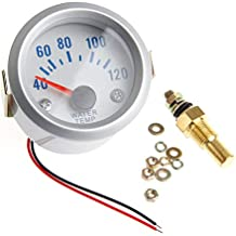 Medidor digital de temperatura de agua haia7k4k de 52 mm para coche