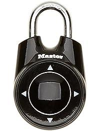 Master Lock 1500iEURDBLK Cadenas à combinaison  Noir 55 mm Niveau de Securite 6/10