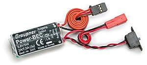 Graupner 3051  - BEC interruptor del cable 5,6 V/2A importado de Alemania
