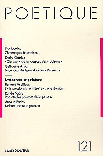 Poetique, numero 121 par Collectif