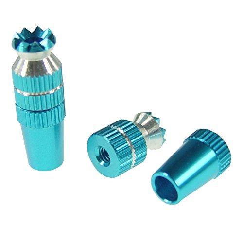 Steuerknüppel Steuerung Fernsteuerung M3 Gewinde Kurz Blau Aluminium Control Sticks Joystick Zubehör Graupner Futaba Spektrum Alloy Anti-Rutsch-TX Steuerknüppel Short RC Modellbau Standmodellbau Neu