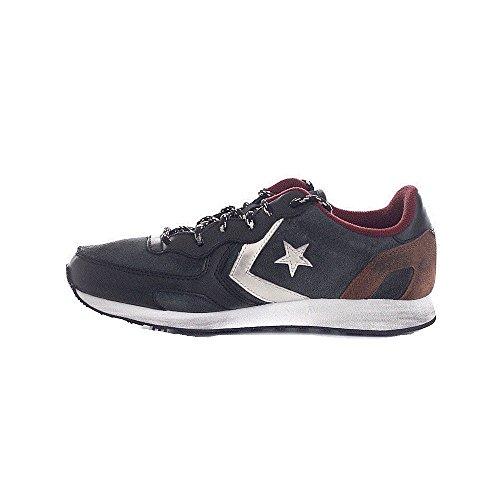 Converse, Auckland Racer Ox Suede Metalp Sneaker,Unisex Adulto Nero