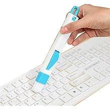 JUNGEN Cepillo de Limpieza Multifunción Pincel de Teclado Cepillo Windowsill Azul
