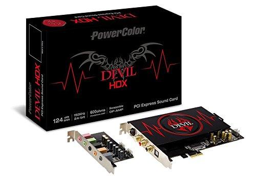 PowerColor SCM888-DHDX interne Devil HDX Soundkarte grau