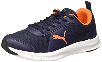 Puma Men's Crater Idp Peacoat-Shocking Orange Running Shoes-6 UK (39 EU) (7 US) (37309003_6)