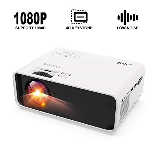 Mini Proyector Portatil,Artlii Enjoy 123 Projector