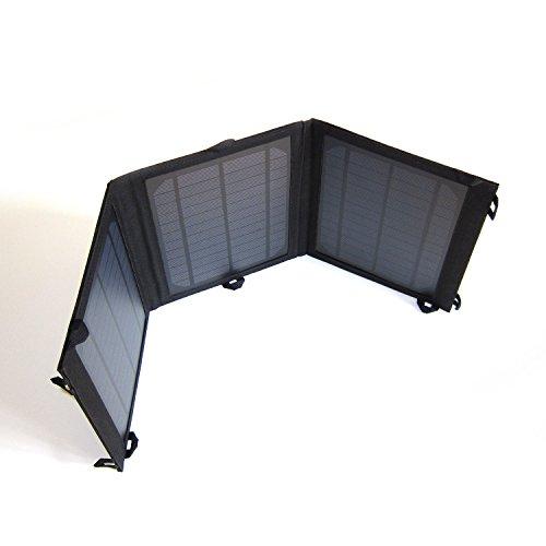 PortaPow 15W antipioggia pieghevole doppia porta USB caricabatterie solare per
