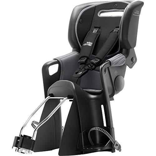 Britax Römer Jockey³ Comfort Fahrradsitz (9-22 kg), Kollektion 2019, black / grey