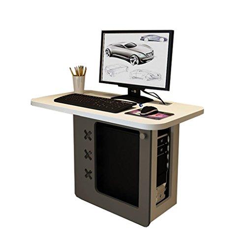LAMXF-Laptoptisch Verstellbarer Laptop BettTablett wandtisch klappbar Wandklapptisch Wood Folding Wand-Drop-Leaf Tisch Küche & Esstisch Schreibtisch Home Office Schreibtisch Workstation (Farbe : B)