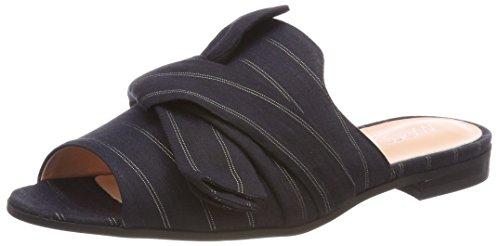 Marc Cain Women's Jb Sk.14 W44 Loafers, Multicolor (Midnight Blue), 2.5 UK