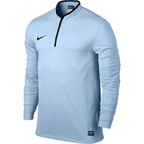 Nike maglia a maniche lunghe Revolution II, Uomo, Fußballtrikot Long Sleeve Revolution II Jersey, Blu ghiaccio / nero, XXL