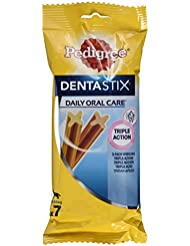 Pedigree DentaStix Hundesnack für mittelgroße Hunde, 28 Stück (4 x 7 Stück)