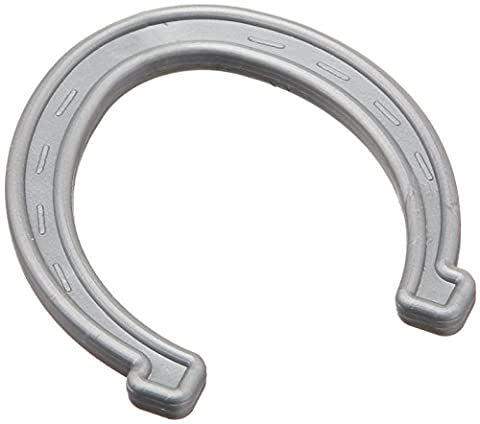 Small Plastic Horseshoes - Silver