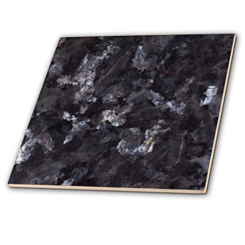 3dRose CT 97938_ 2Blue Pearl Granit Print Keramik Fliesen, 15,2cm -