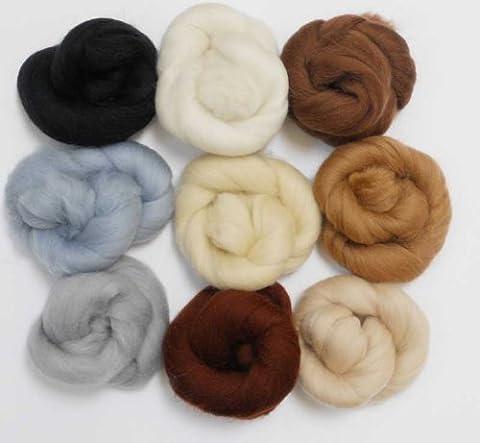 Merino Wool Tops - NEUTRAL TONES - Pack of
