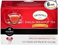 Twinings English Breakfast Decaf Tea Keurig K-Cups, 72 Count