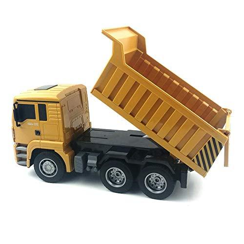 RC Auto kaufen LKW Bild 5: RC-Muldenkipper, 1:16 Allradantrieb-Fernbedienung Muldenkipper-LKW, Schweres Baufahrzeug, Hobby-Spielzeug - Geschenk Für Kinder By globalqi*