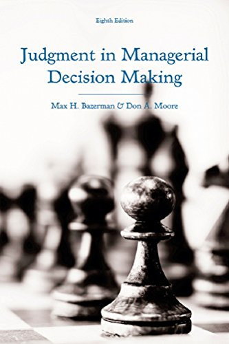abstract of judgement decision making First, there is a systematic pattern of how framing a situation causes decision-making to deviate from the expected-utility or expected-value model second, people become risk-seekers when a problem is posed with a negative perspective and risk-adverse when the same problem is outlined from a positive angle.