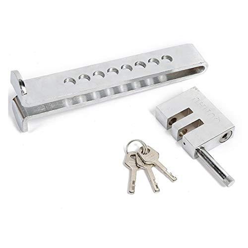 dispositivo di chiusura auto professionale antifurto Blueshyhall/® bloccasterzo con chiavi