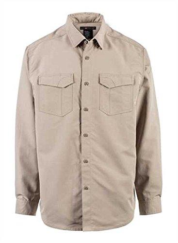5.11Tactical Fast-tac Long-SleeveShirt, Herren, 72479, Khaki, Large - 5.11 Holster Shirt